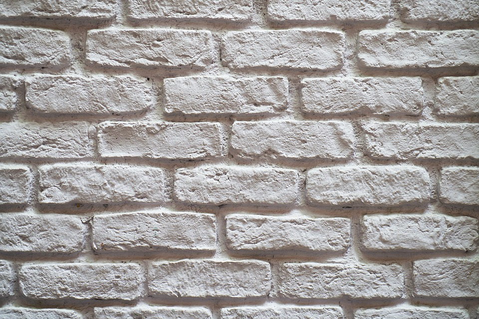 Pared Ladrillo Blanco Foto Gratis En Pixabay - Pared-ladrillo-blanco