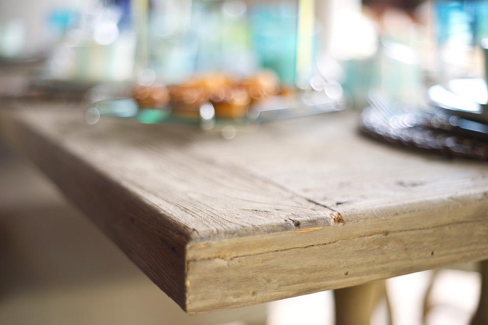 Table Corner Macro Wood Fibre Boards Wood Texture
