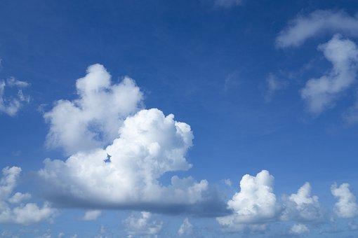 Cloud, Air, Sky, Blue, Nature, Landscape