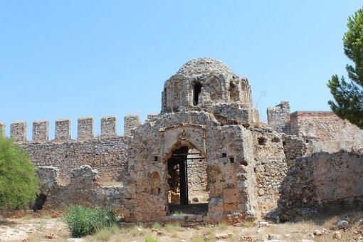 The Ancient Church, Byzantine, Castle