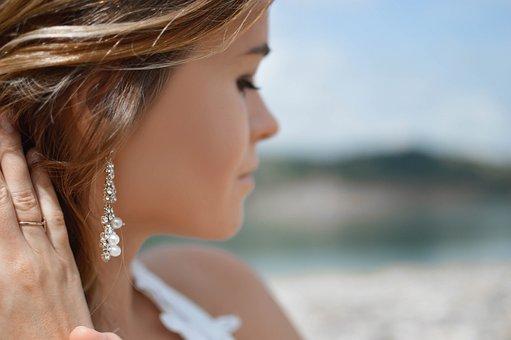 Earrings, Ring, Fashion, People, Girl