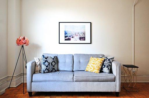 House, Interior, Design, Couch, Sofa