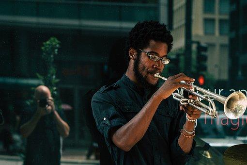 Personas, Hombres, Músico, Trompeta