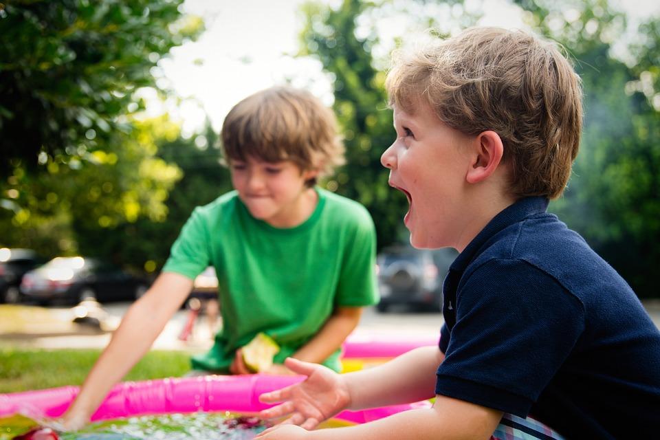 Pessoas, Criança, Menino, Jogar, Parque Infantil