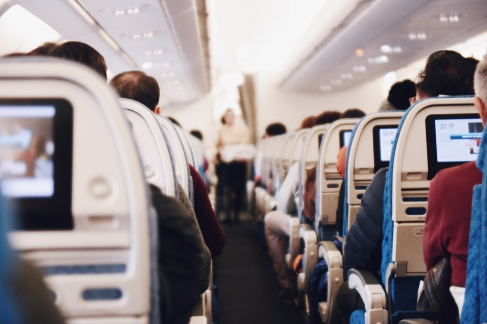 tips for cheap flights , Airplane, Airline, People, Sitting, Passengers