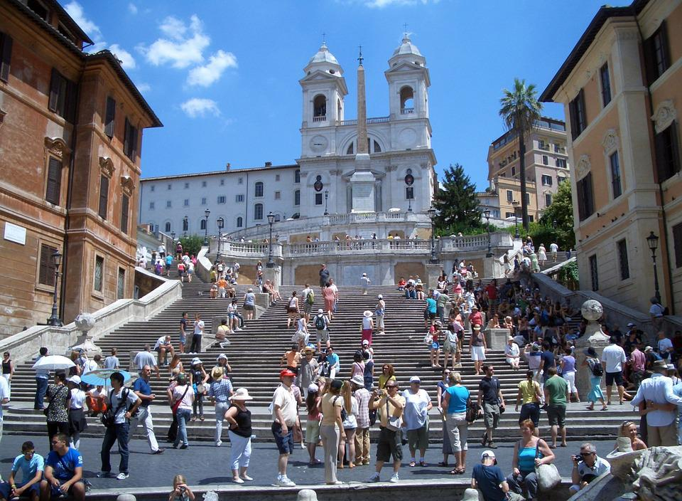 Rome Spanish Steps Architecture 183 Free Photo On Pixabay