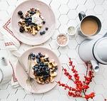 tableware, blueberry, fruit