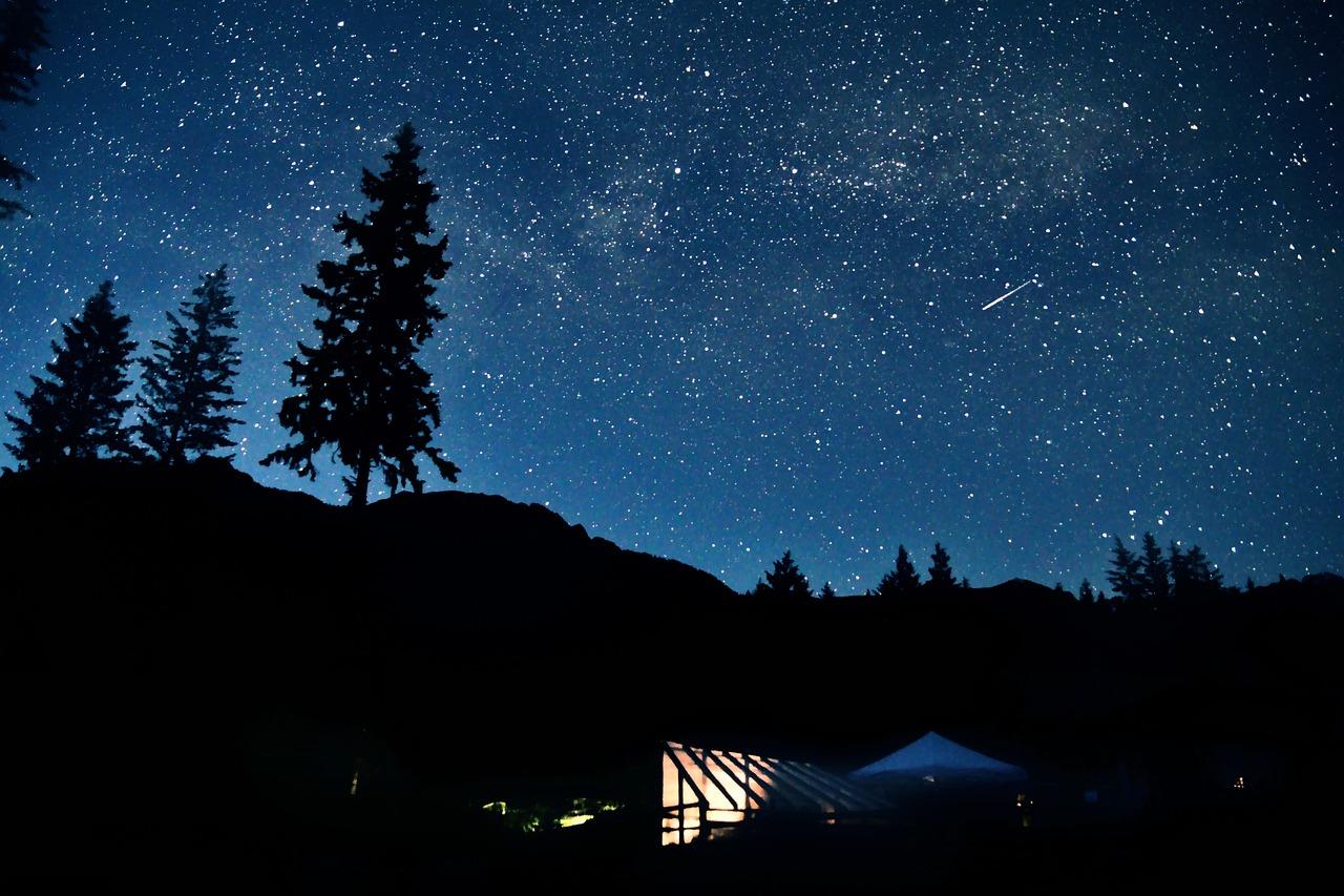 Картинки темная ночь звездное небо