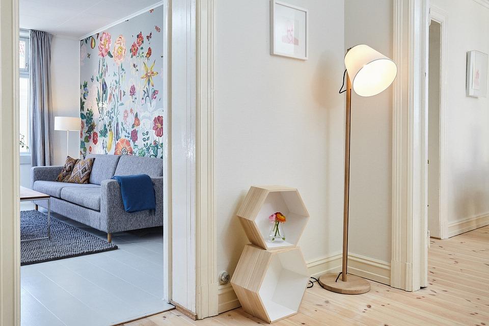Huis, Interieur, Design, Kamer, Bank, Sofa, Deur
