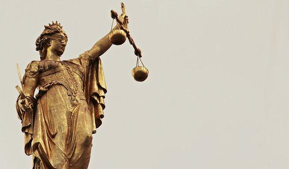 Justitia, 女神, 正義の女神, 女神の真実, 水平, 目隠し, 正義