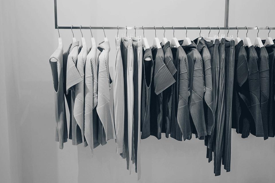 ブラウス, 衣料品, ドレス, ファッション, ストア, ショッピング, モール, ハンガー, 屋内
