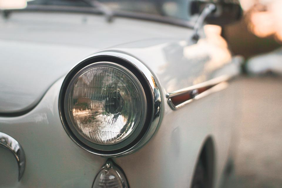 車, 車両, ヘッドライト, 光沢紙, 光沢のある