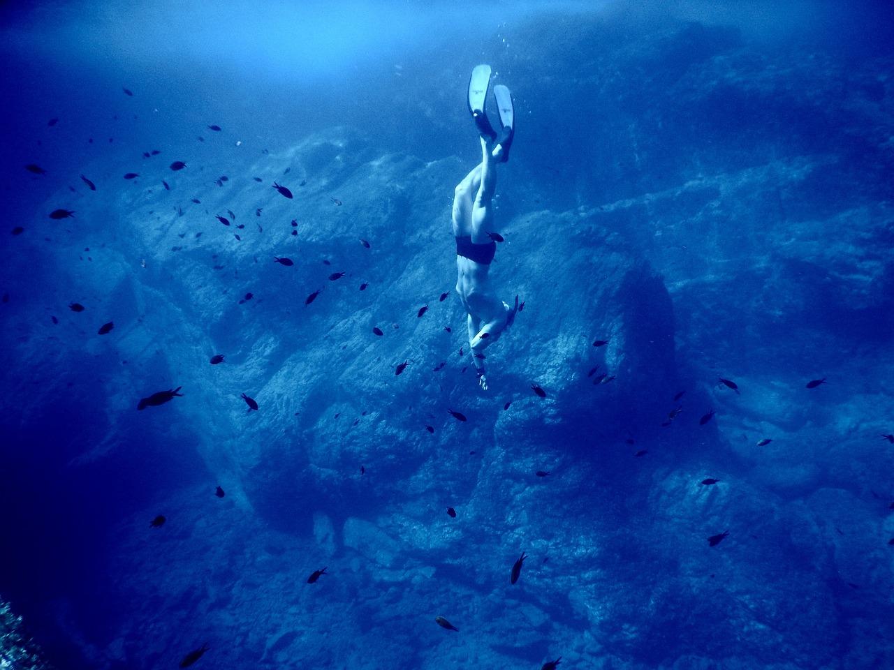 картинка погружение в воду что