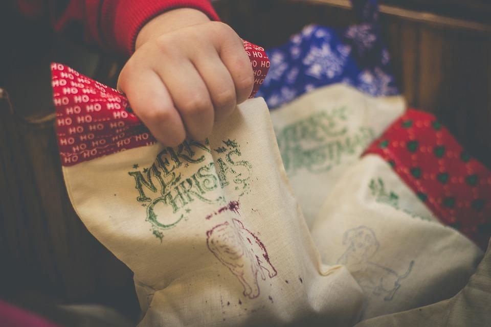 Crăciun, Decorare, Şosete, Mână, Copil, Logo Ul, Cadou