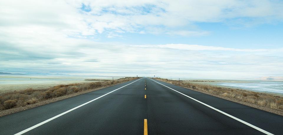 free photo  road  horizon  path  travel  blue - free image on pixabay