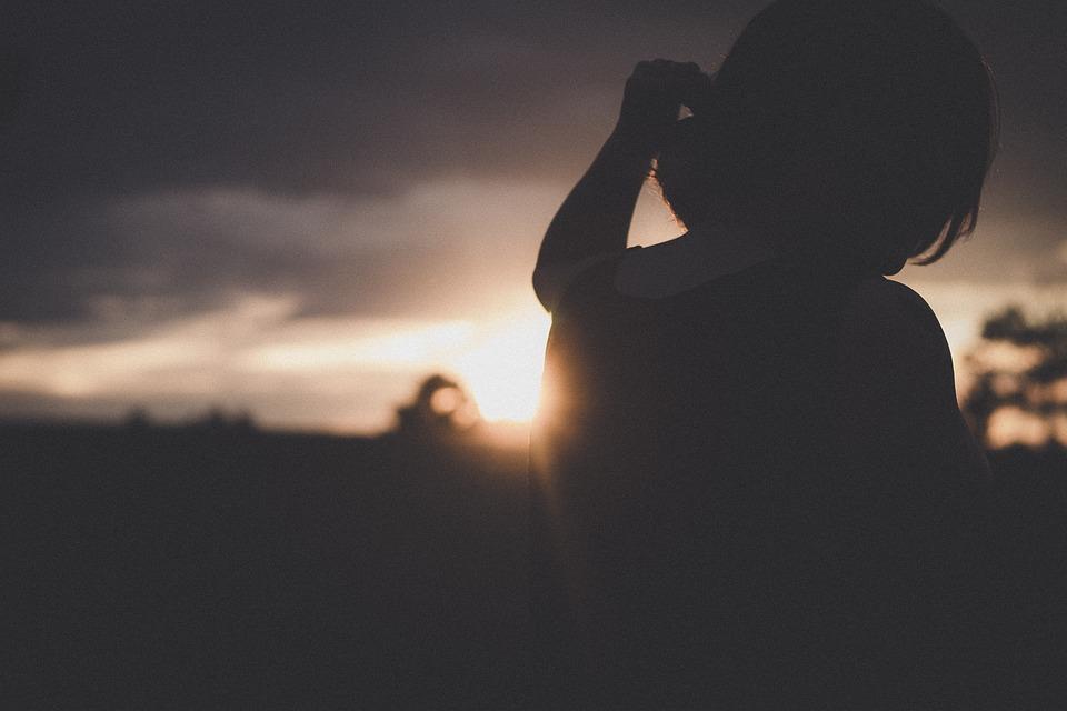 La Luz Del Sol, Oscuro, Puesta De Sol, Cielo, Nube