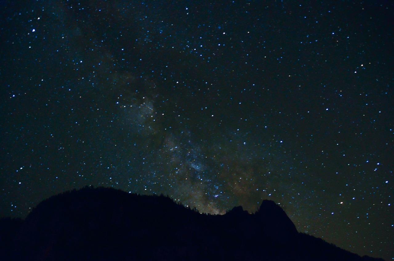 Детской, картинки темная ночь звездное небо