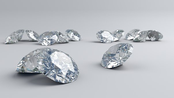 Diamonds, Shinning, Sparkle, Stone