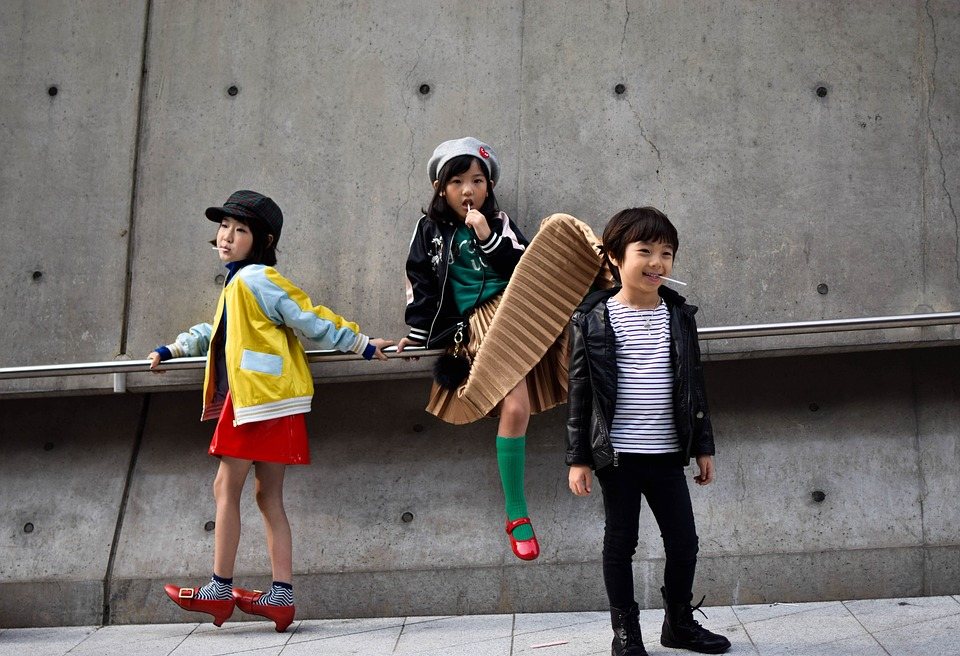 Orang Orang, Anak Anak, Gadis Gadis, Anak Laki Laki