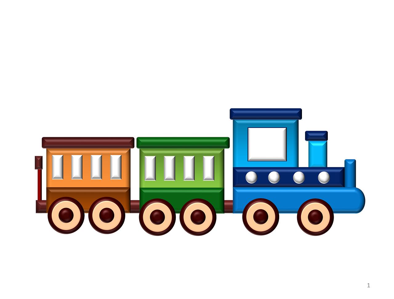 Kereta Api Kartun Transportasi Gambar Gratis Di Pixabay