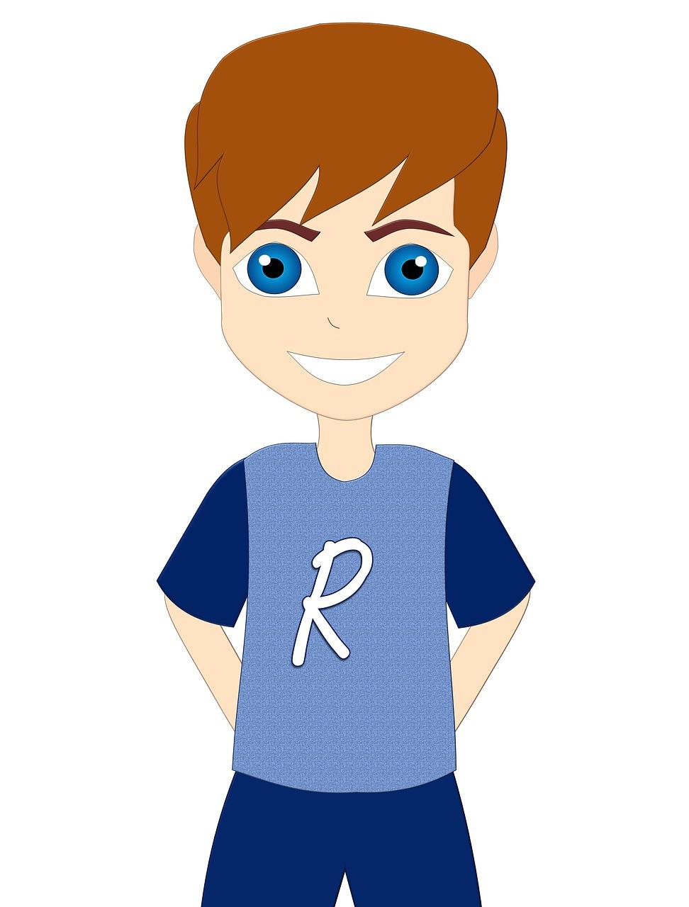 Cartoon Boy Child Free Image On Pixabay