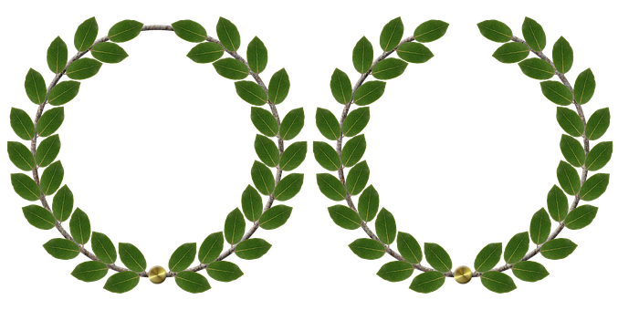 Laurel Wreath, Anniversary, Laurels