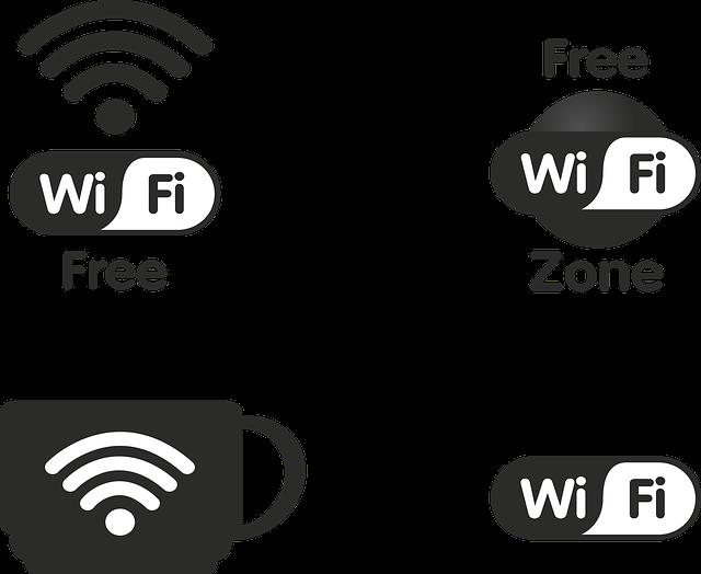 wifi wlan free zone internet  u00b7 free vector graphic on pixabay