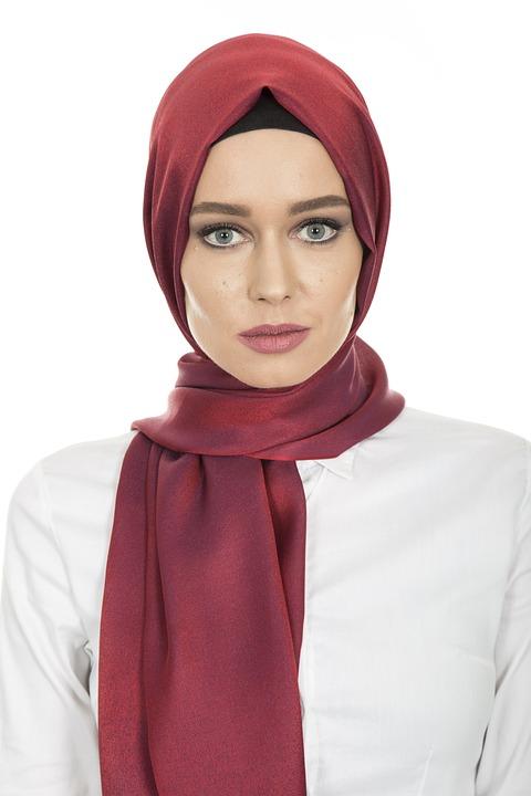 Hijab Head Cover Hair Scarf Woman