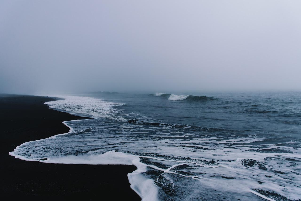 черный океан фото панировке очень