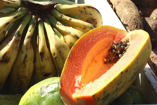 Fair, Banana, Papaya