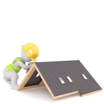 Roof, Roofers, Craft, Profession, Brick