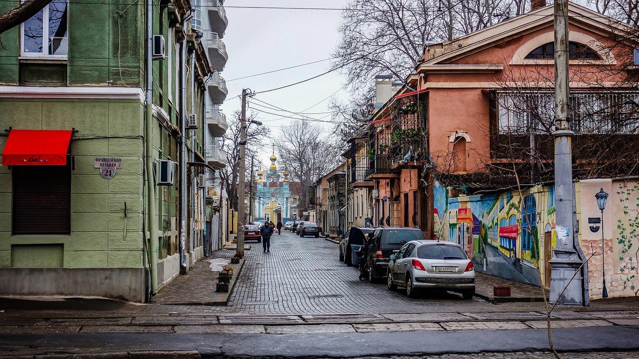картинки улиц одессы выезжая черту