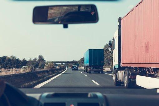 Carretera, Por Carretera, Camiones
