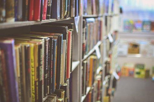 Biblioteket, Böcker, Läsning, Skolan