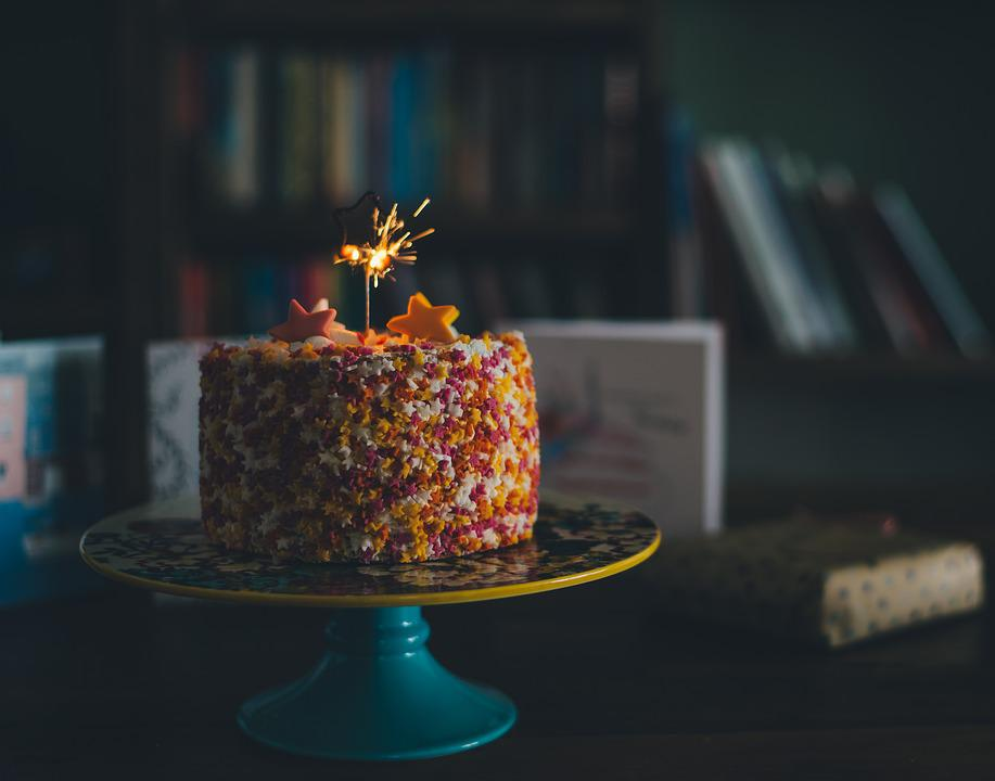 Birthday Cake Candle Sparks Party