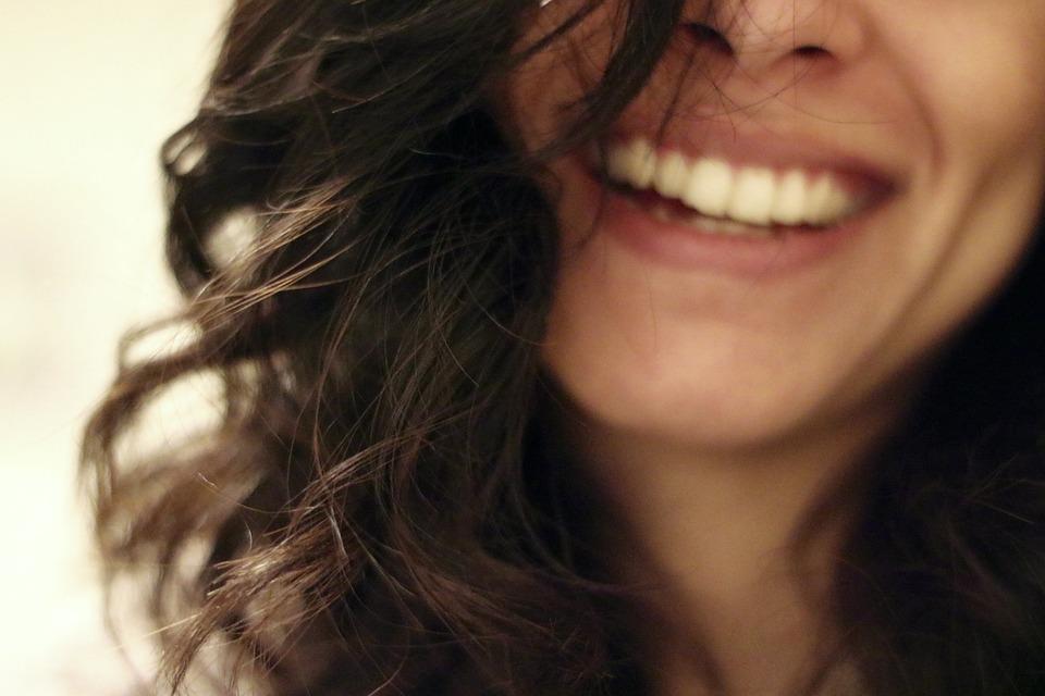 Sorriso, Sorridente, Ridere, Felice, Ragazza, Donna