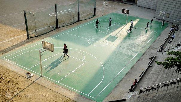 Hobbies, Sports, Basketball, Court