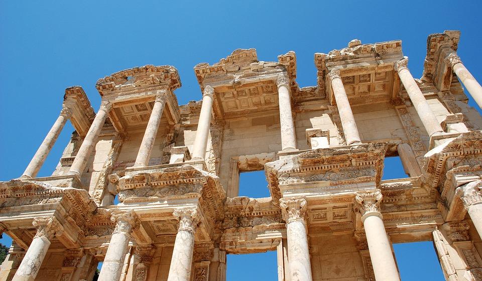 Efes, Türkiye, Selçuk, Stone, Roma, Eski, Seyahat