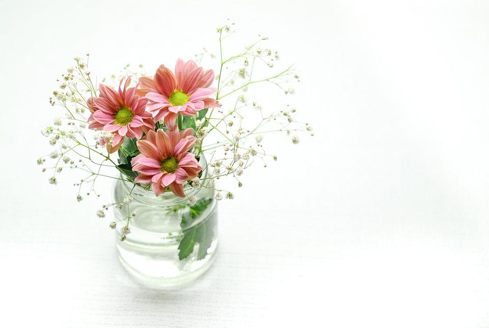 Pink Flowers Bowl Free Photo On Pixabay