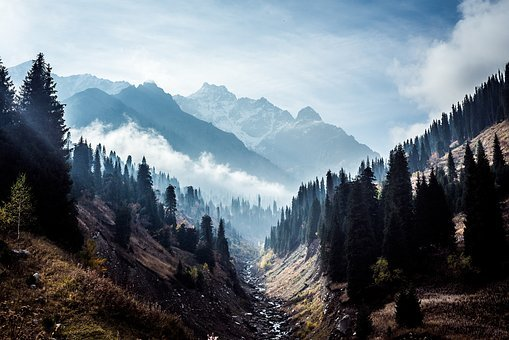 Great Nature, Landscape, Mountains, Summit