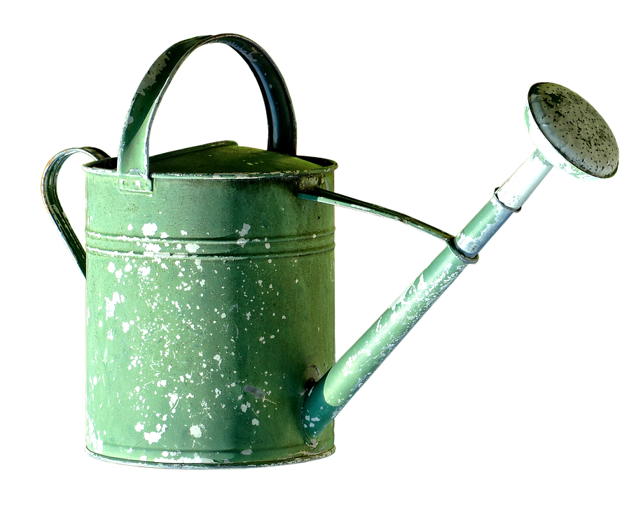 watering can pot garden casting irrigation green - Garden Watering Can