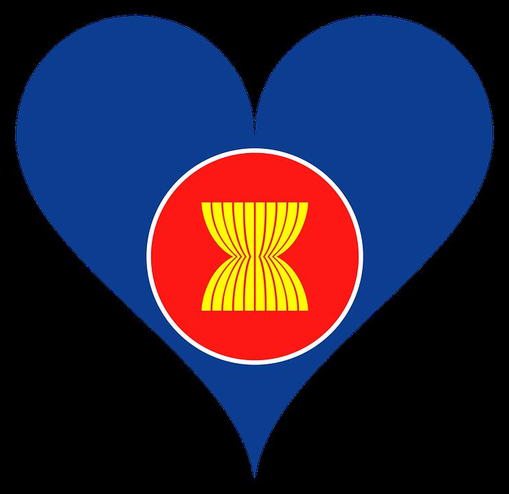 Асеан, Азии, Юго Восточная Азия, Флаг, Логотип