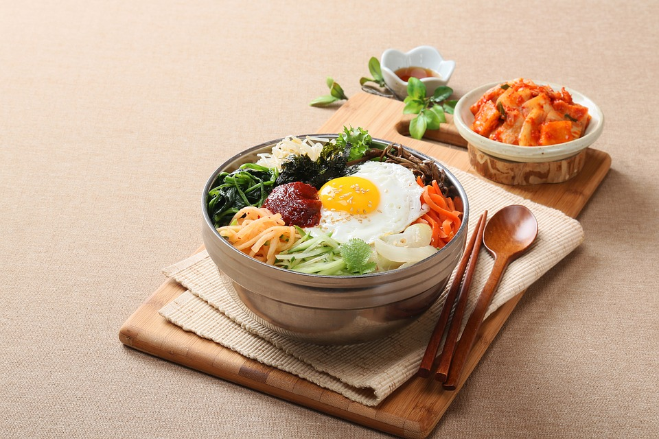 Fotografia Alimentare, Coreano, Bibimbap