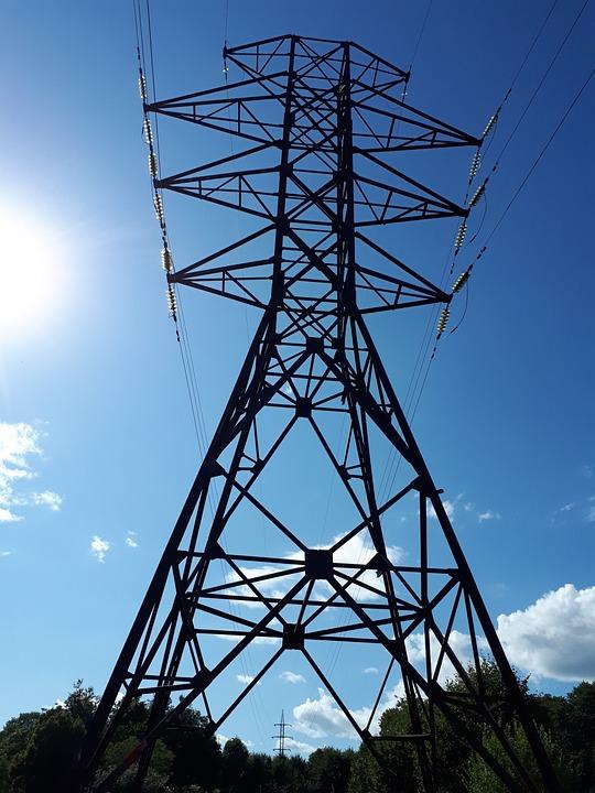 Hochvolt-Mast Elektrisch Runde · Kostenloses Foto auf Pixabay