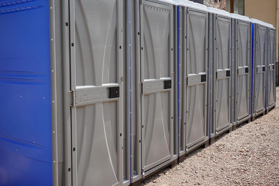 Современные туалетные кабины