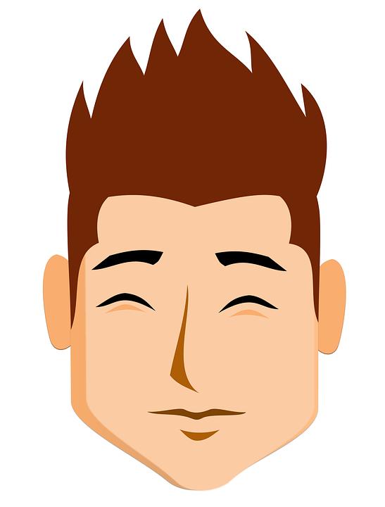 Face Boy Cartoon Cute 183 Free Image On Pixabay