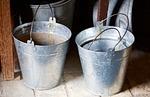 buckets, steel, former