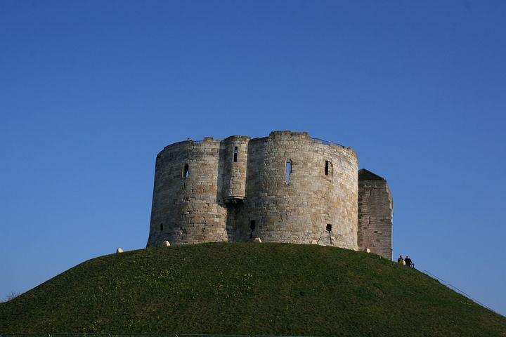 Курган замок