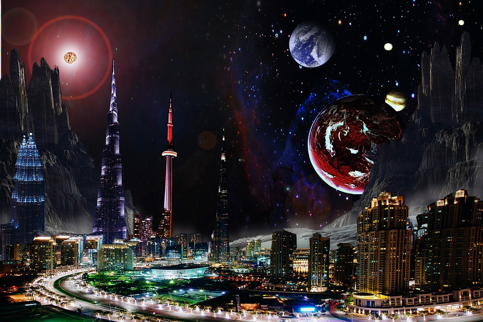fantasy space planets free photo on pixabay