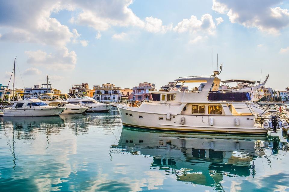 Cyprus, Limassol, Molos, Old Port, Marina, Tourism
